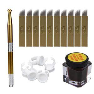 AIGUILLE DE TATOUAGE Kit de colorant de stylo d'aiguille de tatouage de
