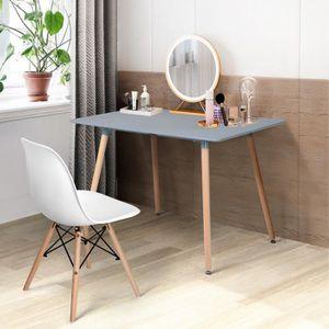 TABLE DE CUISINE   Table à Manger Rectangulaire de 4 à 6 Person Tabl