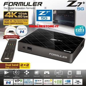 BOX MULTIMEDIA FORMULER Z7+ 5G IPTV/OTT 4K UHD HDR Set-Top Box An