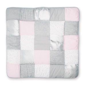 Bemini by Baby Boum Parure de lit Berceau Coton 80x80 cm STARY Frost