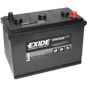 BATTERIE MACHINE OUTIL Batterie camion EU-140/6 6V 140Ah 900A - Batterie(