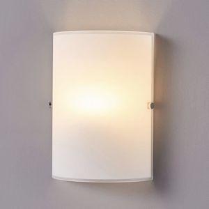 DEL Lampe murale matthea en Opal Verre Boule Blanc Chrome lampenwelt murale Éclairage de couloir e14