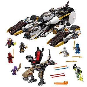 ASSEMBLAGE CONSTRUCTION LEGO Ninjago Ultra Raider Furtif 70595 enfants jou