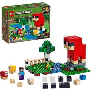 ASSEMBLAGE CONSTRUCTION LEGO® Minecraft™ 21153 La ferme à laine