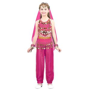 JUPETTE DE DANSE Jupe de Danse Inde Fille Enfant - Robe de Danse Or