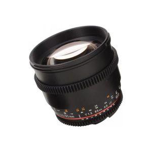 OBJECTIF Obj SAMYANG 85mm T1,5 VDSLR Canon