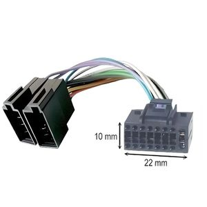 cable adaptateur iso autoradio achat vente cable