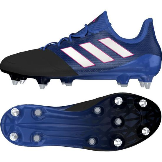 new product f929c 3de2d CHAUSSURES DE FOOTBALL Chaussures Adidas ACE 17.1 LEATHER SG