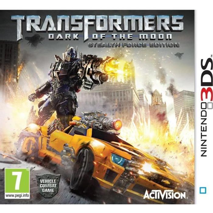 JEU 3DS TRANSFORMERS: DARK OF THE MOON / Jeu console 3DS