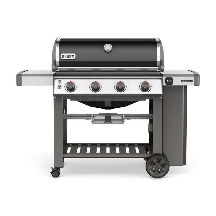 Photo de weber-barbecue-a-gaz-genesis-ii-e-410-gbs-noir-fonte-dacier-emaillee