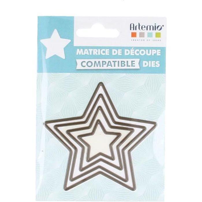Matrice de découpe (Die) Étoiles Petit - Artémio {couleur}