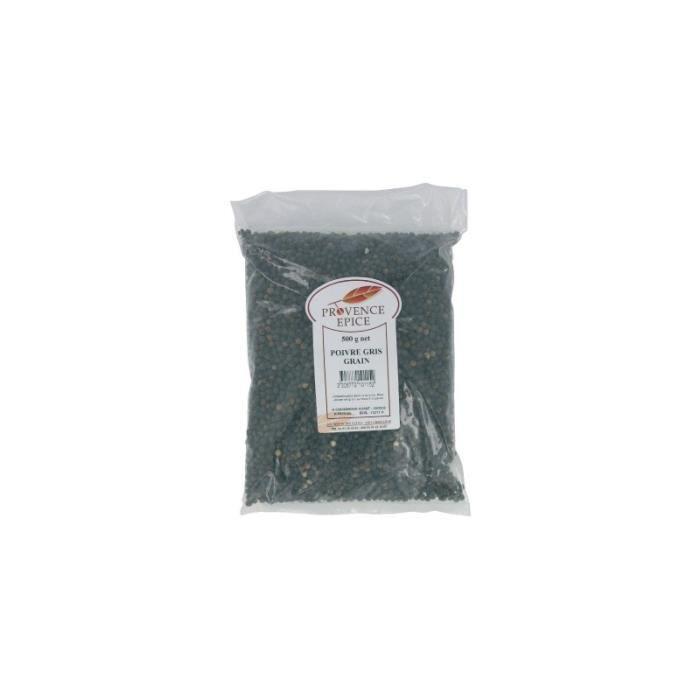 Poivre provence épice vg grain gris 500