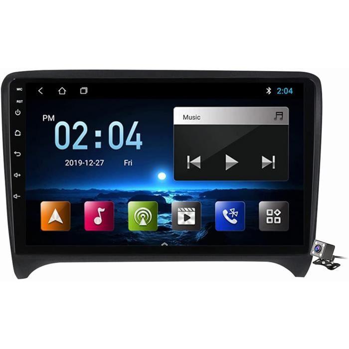Android 11 Lecteur Multimédia Stéréo De Voiture pour Audi TT MK2 2006-2014 Soutien Navigation GPS-Carplay-FM AM RDS Autoradio-B 262