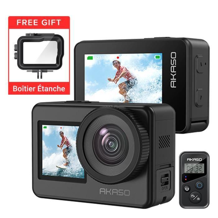 2019 Dragon Touch 4K Action Caméra 16MP Vision 3 Pro WIFI 100ft Waterproof Caméra Ecran Tactile 2 Batteries Montage Accessoires Kits