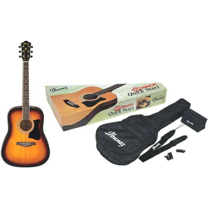IBANEZ V50NJP-VS Jam Pack Guitare Vintage Sunburst