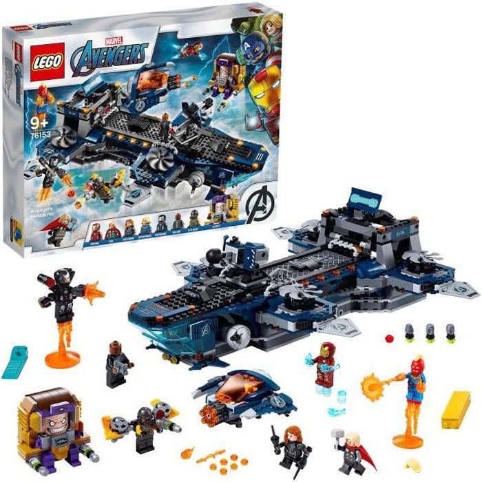 LEGO® Marvel Super Heroes™ 76153 L'héliporteur des Avengers