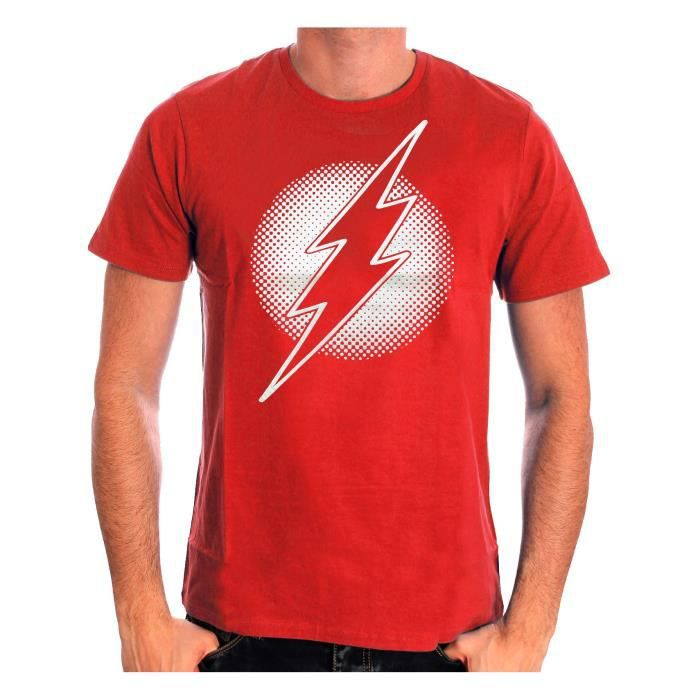 Tshirt homme DC Comics Flash - Metal Logo