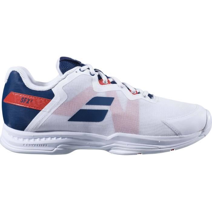 Babolat Sfx3 All Court Hommes Chaussure tennis blanc
