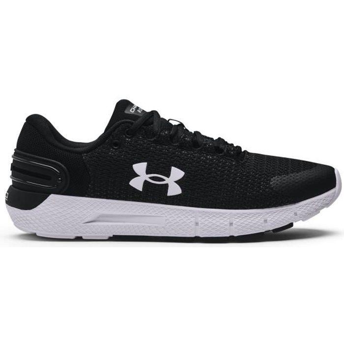 Chaussures de running de running Under Armour Charged Rogue 2.5 - noir/blanc/blanc - 40