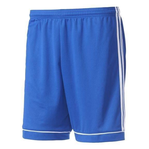 ADIDAS Short Squadra 17 Bleu / Blanc