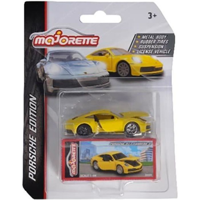 MAJORETTE Porsche Deluxe X1 en métal - Modèle aléatoire