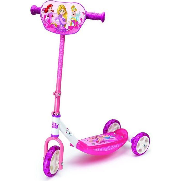 DISNEY PRINCESSES Smoby Patinette 3 Roues