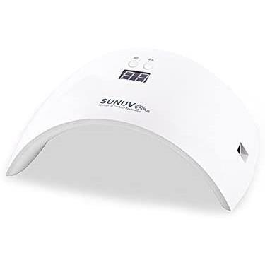 Sunuv SUN9x Plus Lampe UV/LED sèche-ongles avec capteur infrarouge et minuteur Idéal pour le séchage des vernis à ongles gel 36 W