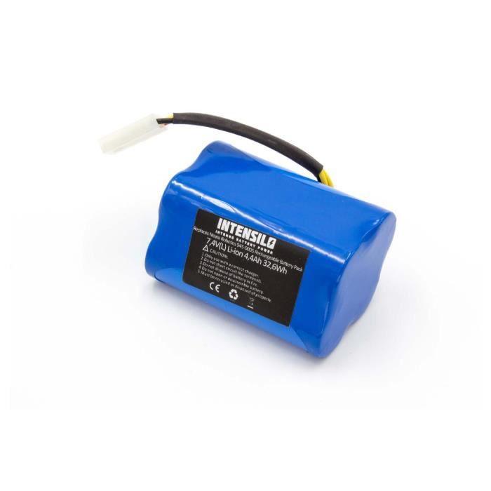 INTENSILO batterie compatible avec Neato XV Signature, XV signature pro, XV-11, XV-12 aspirateur Home Cleaner (4400mAh, 7,4V,