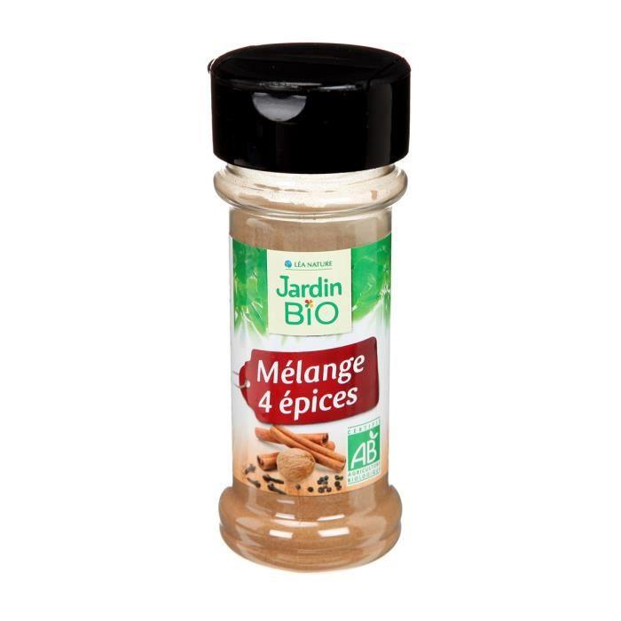 JARDIN BIO Mélange de 4 épices bio - 25 g