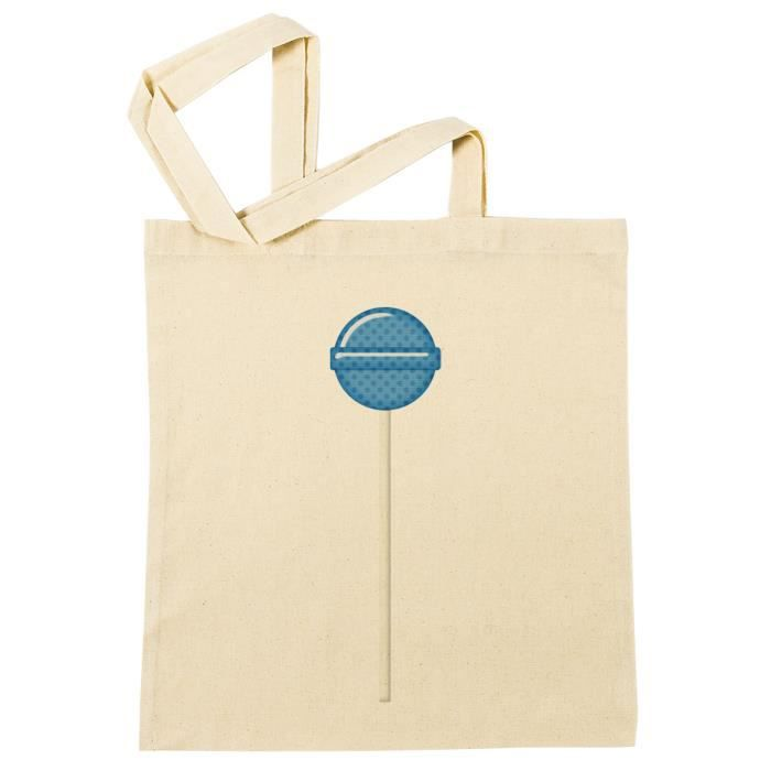 Plage Sac Beach Bleu Provisions 44432 Reusable B Coton À Shopping Sucette Réutilisable Bag qIzrwIEx