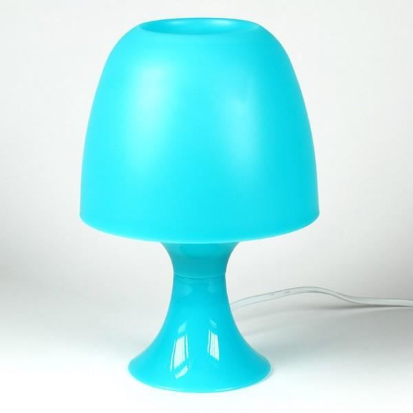 lampe de chevet bleu achat vente lampe de chevet bleu plastique cdiscount. Black Bedroom Furniture Sets. Home Design Ideas