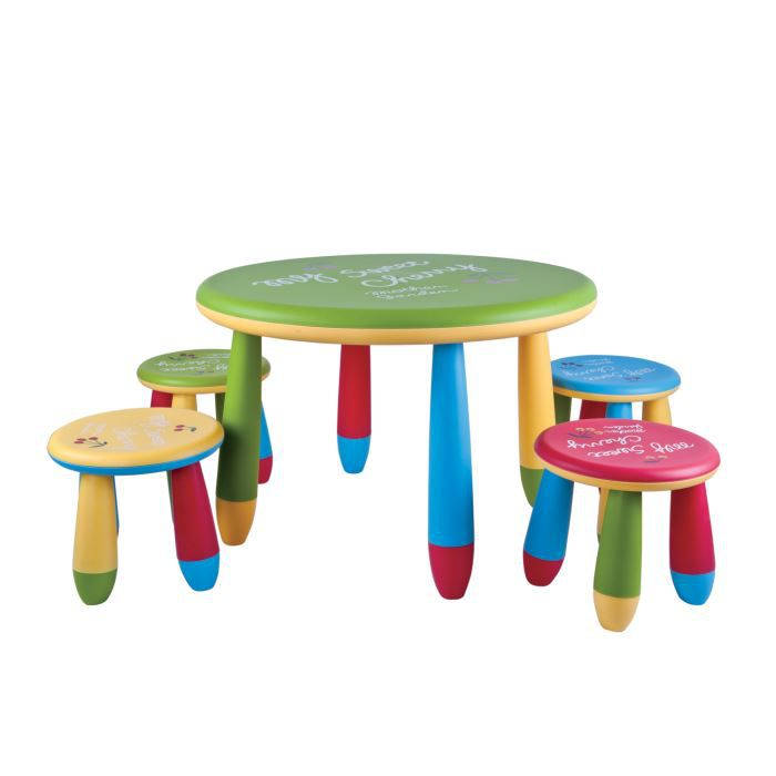 set de table et chaises enfant my sweet cherry achat vente table b b 6037656389153. Black Bedroom Furniture Sets. Home Design Ideas