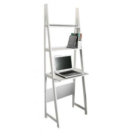 Tag re bureau en bois blanc achat vente etag re for Bureau etagere