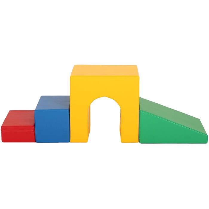 IGLU XL Blocs de Construction en Mousse 7 pi/èces Jouets /éducatifs