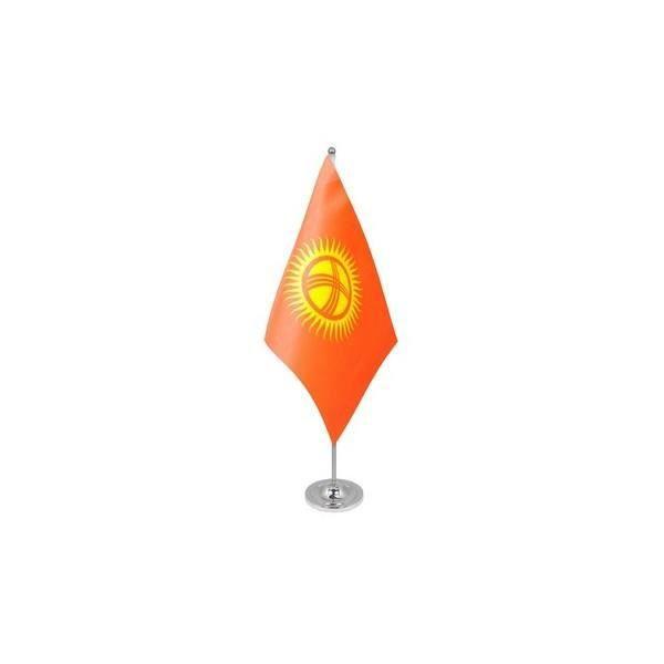 AZ FLAG Drapeau de Table Prestige Vietnam 22x15cm en Satin Grand Drapeaux DE Bureau vietnamien 15 x 22 cm