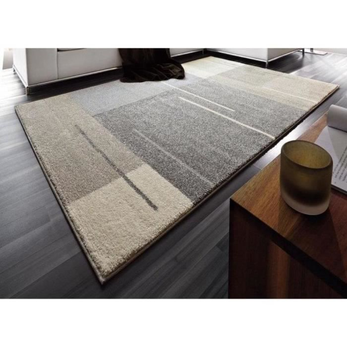 samoa design tapis patchwork gris taupe 160x23 achat vente tapis cdiscount. Black Bedroom Furniture Sets. Home Design Ideas