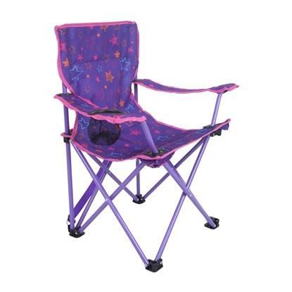 chaise fauteuil enfants fille gar on pliable imprim jardin camping vacances prix pas cher. Black Bedroom Furniture Sets. Home Design Ideas