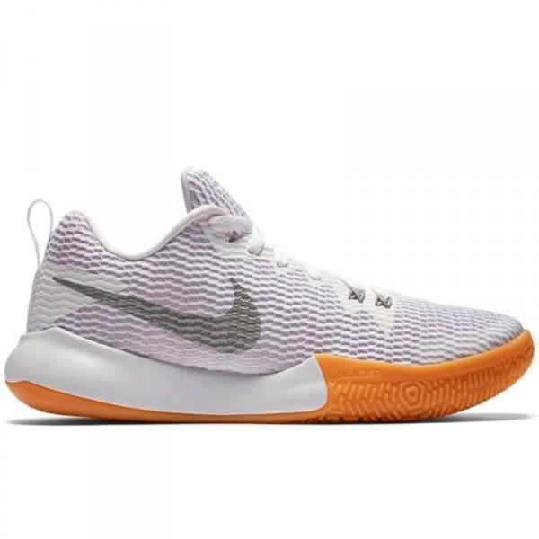 Chaussure de Basketball Nike Zoom Live II Blanc pour Femme ...