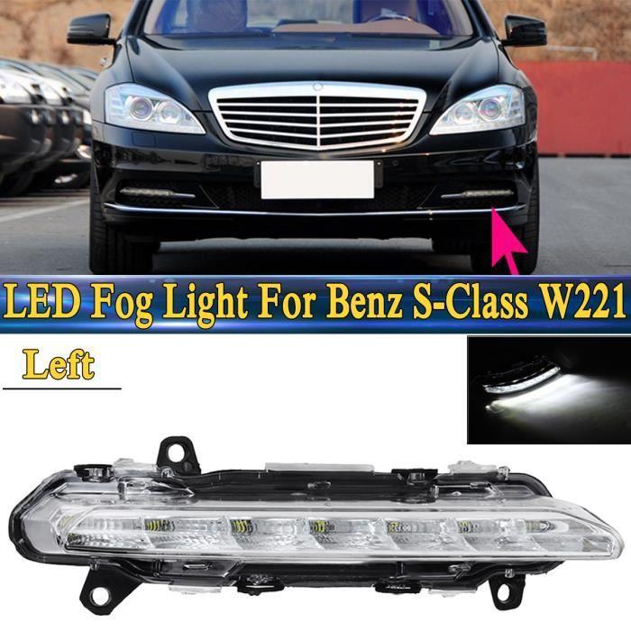 Feux de Jour Diurne DRL Eclairage Lampe 8 LED 2x4W Mercedes CL CLK SL SLK CLS ML