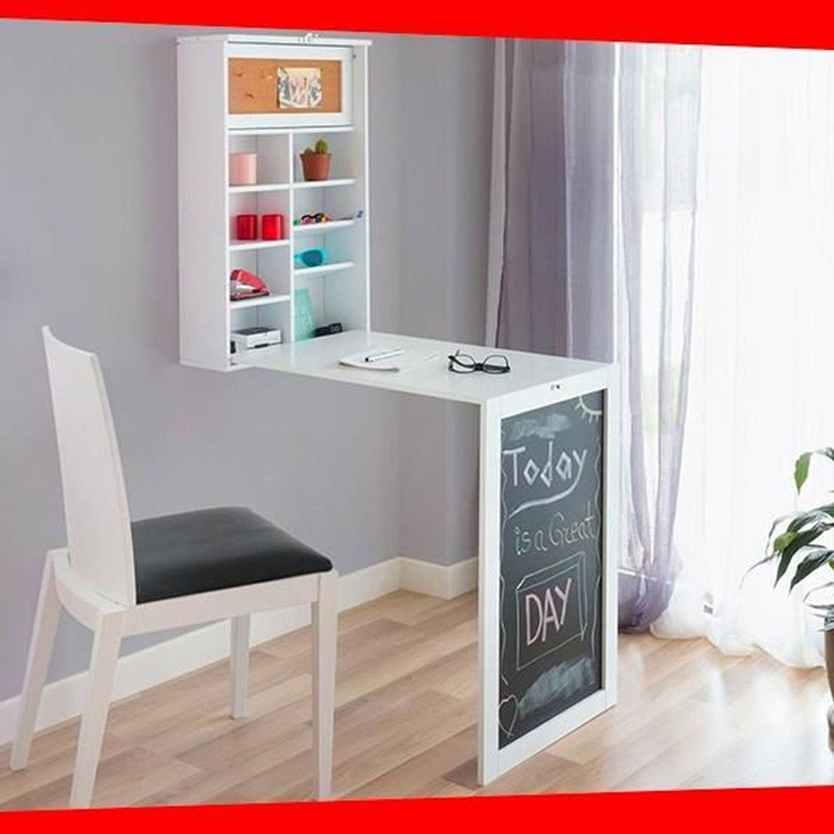 Armoire Gain De Place bureau mural table rabattable armoire gain de place