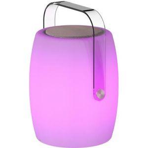 PROJECTEUR - LAMPE LUMISKY Lampe musicale d'extérieur avec haut parle