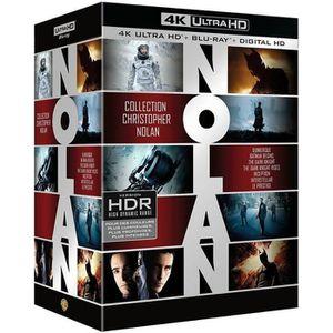 DVD SÉRIE Coffret Blu-ray 4K Nolan 7 films