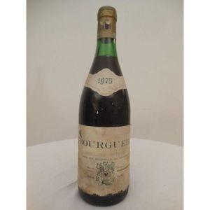 VIN ROUGE bourgueil sodis rouge 1975 - loire - touraine fran