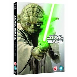 DVD FILM Star Wars - The Prequel Trilogy (3 Dvd) [Edizione: