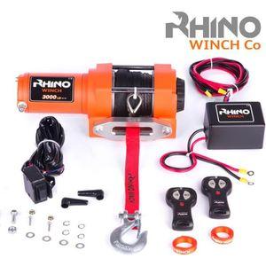 TREUIL AUTO Rhino Treuil 12v Électriques 3000lb / 1360kg Corde