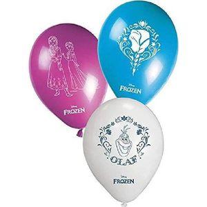 BALLON DÉCORATIF  Sachet de 8 Ballon Disney La Reine des Neiges - Fr