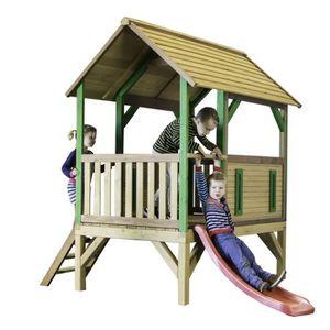 MAISONNETTE EXTÉRIEURE AXI maison enfant exterieur en bois Akela