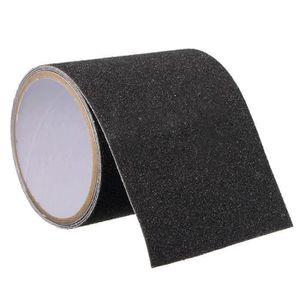 WINOMO Ruban de bande antid/érapante et imperm/éable pour manche Noir 100 x 3,3 cm