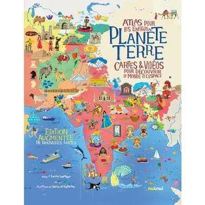 DOCUMENTAIRE ENFANT Livre - planète Terre ; atlas pour les enfants ; c