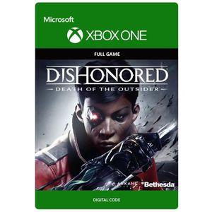 JEU XBOX ONE À TÉLÉCHARGER Dishonored : La Mort de l'Outsider Jeu Xbox One à